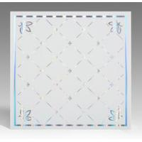 Best Light Weight Fireproof PVC Ceiling Boards , Decorative Plastic Ceiling Tiles wholesale
