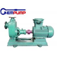 China Engineering plastic Stainless Steel Self Priming Pump FPZ Corrosion resistant on sale