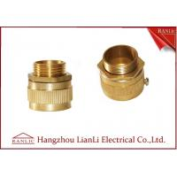 Cheap Brass Male / Female Flexible Conduit Adaptor with Nickle Plated 20mm 25mm for sale