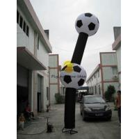 Cheap Durable Advertising Inflatable Air Dancer With Football Shaped of Celebration for sale