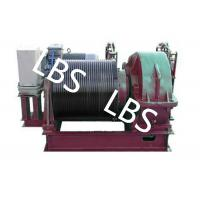 Best Electric Winding Hoist Wrie Rope Electric Marine Winch Lifting Capacity 10T , 30T wholesale