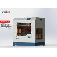 Best F430 1.75mm High Accuracy 3d Printer Large Build Volume With Glass Ceramic Panel wholesale