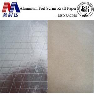 Best Heat Insulation Reflective Aluminum Foil Scrim Kraft Paper Facing wholesale