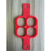Best FBT121604 for wholesales silicone 4-holes pancake mold 4 shapes as option wholesale