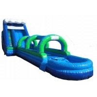 China Waterproof Commercial Grade Inflatable Water Slide on sale