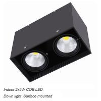 Best Interior IP40 surface mounted 10W COB LED downlight for home hotel wholesale