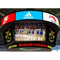 Best Standing Flexible LED Screen Stadium Basketball Cube P5 P6 SMD3528 3 In 1 Pixel wholesale