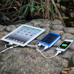 Best Lithium Polymer Big Capacity Mobile Portable Power Banks 10000mah Double USB wholesale