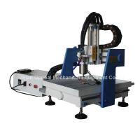 Best Desktop 360*360mm Mini CNC Metal Carving Machine with DSP Control wholesale