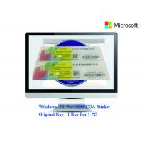 Buy cheap Authentic Windows 10 Product Key 32bit/64bit Operating Systems COA X20 Full Version Software from wholesalers