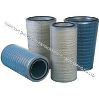 Best High Efficiency Pleated Filter Cartridge , Gas Filter Cartridge In Conical And Cylindrical Pairs wholesale