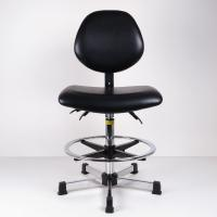 Buy cheap Anti Static And Synthetic Leather Ergonomic Stool For High Work Bench Lab And from wholesalers