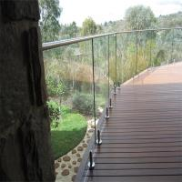 Cheap Glass Pool Fence with Certificates / Baby Pool Fence Glass Railing Outdoor for sale