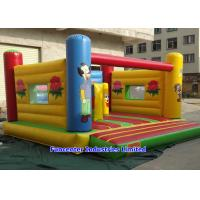 Best Kids Playing Inflatable Bouncy Castle Flower Pattern High Durability Materials wholesale