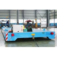 Quality Heavy Duty Rail Flat Electric Transfer Cart 12 Ton Capacity 4mx1.8m Table wholesale