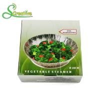 Best Stackable Collapsible Stainless Steel Vegetable Steamer Basket Insert Food Grade wholesale