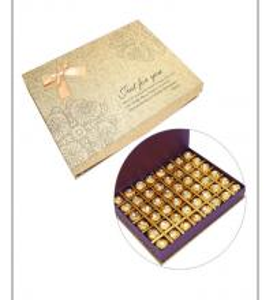 Best Custom Grey Cardboard Chocolate Packaging Gold Stamping Paper Packaging Box wholesale