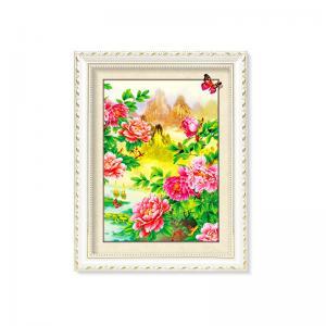 Best Flowers And Plants 5D Images Lenticular Art Prints For Restaurant Decor wholesale