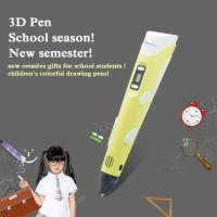 Best Kid amazing gifts safety material drawing pen pla 3d pen 1.75mm filament wholesale