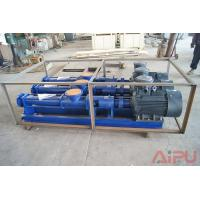 Best Drilling fluid process screw pump for decanter centrifgue at Aipu solids control wholesale