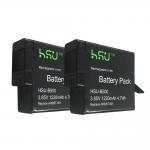 Best Replacement GoPro Batteries AHDBT - 501 / GoPro Hero5 Battery 1220 mAh Power wholesale
