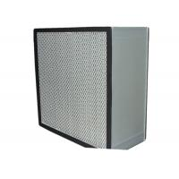 Best Washable Cleanroom HEPA Air Filter for Filtration System , Anodized Aluminum Frame wholesale