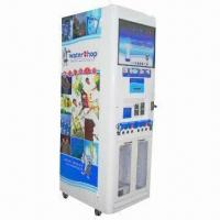 China Water Vending Machine with 400, 600, 800 and 1, 300 Gallon Capacities and Up to 510W Power on sale
