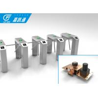 Cheap ID Reader Vertical Tripod Turnstile Optional Passage Width 600mm 35 Persons / Min for sale