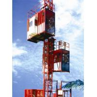 Quality Customized Color Construction Material Hoists , Construction Elevator With 36m / Min To 96m / Min Speed wholesale