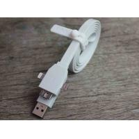Best Samsung Note3 Micro USB Charger Cable White Noodle Flat Micro USB 3.0 Cable wholesale