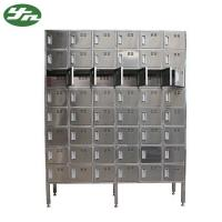 Best 304 Stainless Steel Clean Room Shoes Cabinet Change Shoes Ark 220V/50Hz For TCL wholesale