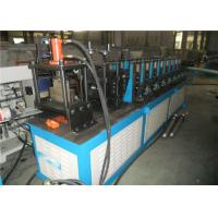 Fire Proof Damper Roll Forming Production Machine 0.8~1.5mm Interface Control