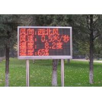 Cheap Fix Installation Red Single Color LED Display Auto Testing Asynchronous Card for sale