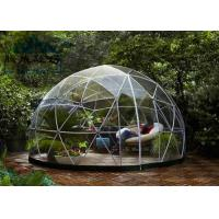 Best Light Frame Steel Structure Portable Dome Tent , Dome Shaped Tent 10M/20M/30M wholesale