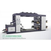 China High Speed 4 Colour Flexographic Printing Machine For Paper Printer / Label Printer on sale
