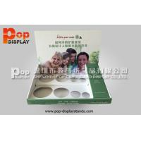 China PP Glossy Lamination Retail Counter Displays / Counter Top Display Stands For Bottles on sale