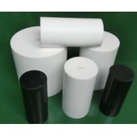 Best Natural White Virgin Molded PTFE Rod Self Lubricating With High Performance wholesale