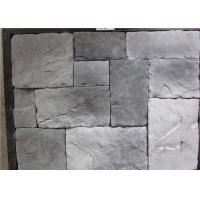 Best Durable Faux Stone Wall Tiles , Faux Stone Veneer Exterior / Interior Wall Decoration wholesale
