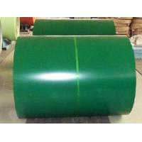 Cheap 0.5mm Green Prepainted Galvalume Steel Coils Excellent Thickness Tolerance Control for sale