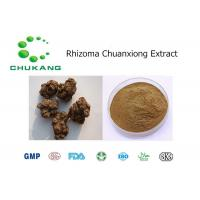 Best Rhizoma Chuan Xiong Powdered Herbal Extracts Promoting Blood Circulation wholesale