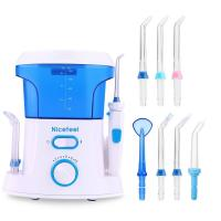 Best OEM Oral Care Dental Jet Water Pick Teeth Cleaner Oral Irrigator With 600 Ml Tank wholesale