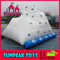 Best G-246 2015 Inflatable Water Climbing Rock, Inflatable Ice Berg wholesale