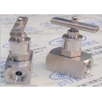 Quality Socket weld wrought stop valve for oil & gas transfer PN0.6 Mpa to PN80 Mpa DN2 to DN65 wholesale