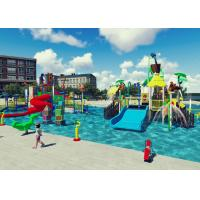 Best Swimming Pool Project Aqua Park Design Interactive Spray Park Equipment wholesale