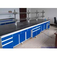 Buy cheap Heavy Duty Science Lab Tables With Sinks / School Chemistry Lab Bench from wholesalers