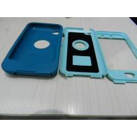Best Blue Waterproof Outer Box Phone Cases Semi-permeable For IPod 4G wholesale
