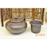 Best Art Collective Use Authentic Yixing Teapot , Purple Sand Teapot Custom Pattern wholesale
