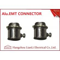 Best 1/2 EMT Connectors Fittings , Aluminum Alloy 4 EMT Connector Customized wholesale
