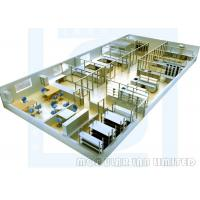 Best Electronics Lab Furniture Installations , Hollow Glass Megnesiu Sandwich Papel Laboratory Benches And Cabinets wholesale