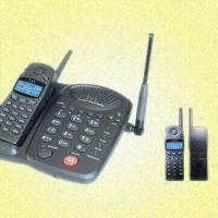 Best Cordless Telephone with Microcomputer Chip Control and Night Lighting LCD wholesale